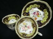 SOLD -H & R Daniel tea & coffee trio